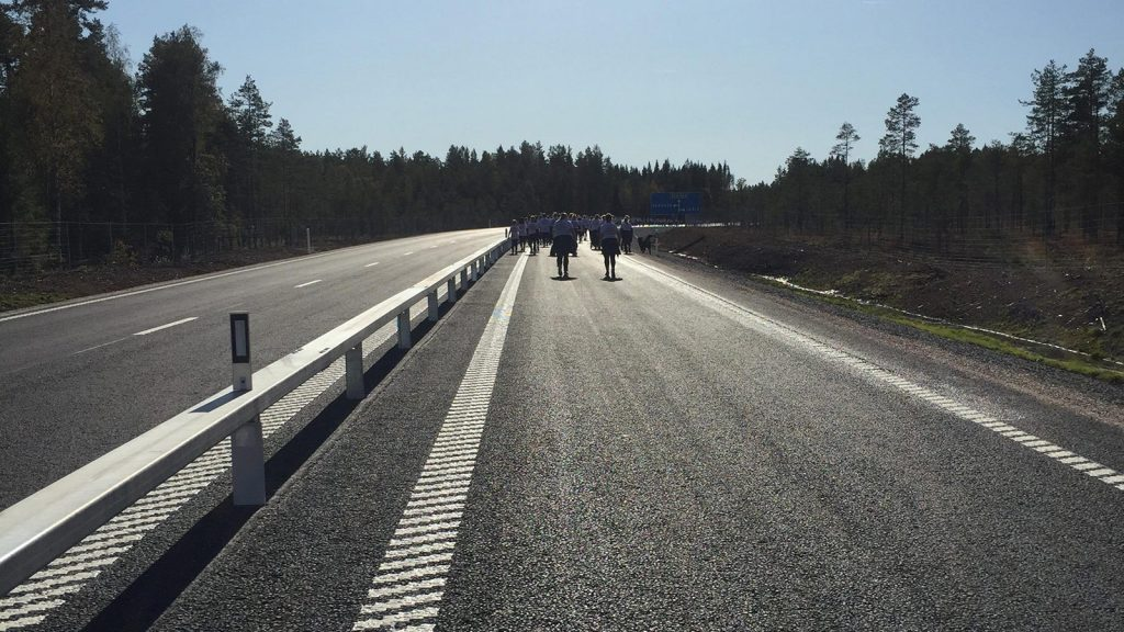 Vägen mellan Hulån och Vansbro