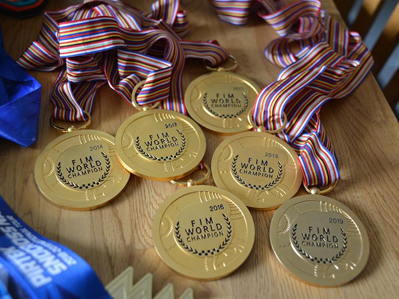 VM-medaljer