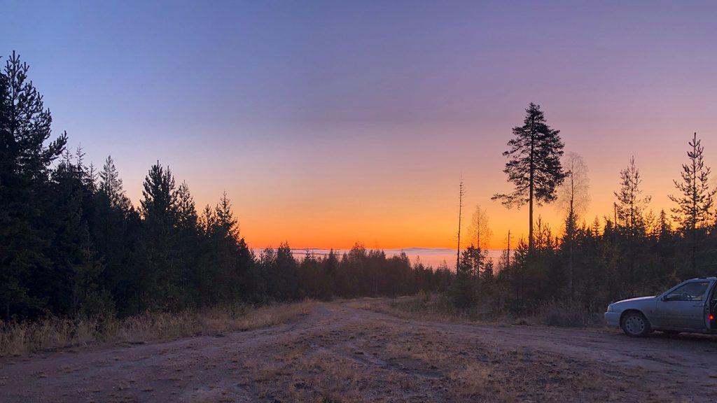 Utsikt från Gärdås jaktlag
