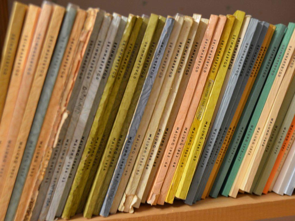Några av de allra tidigaste utgåvorna.