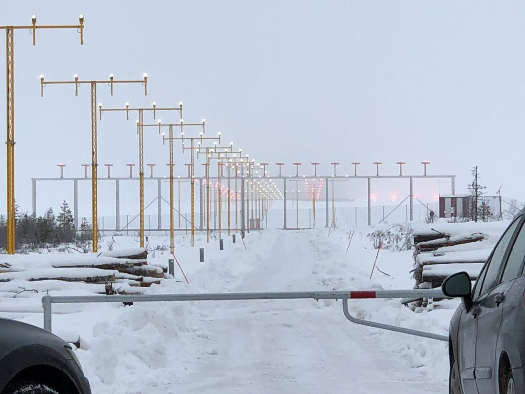 Flygplatslampor