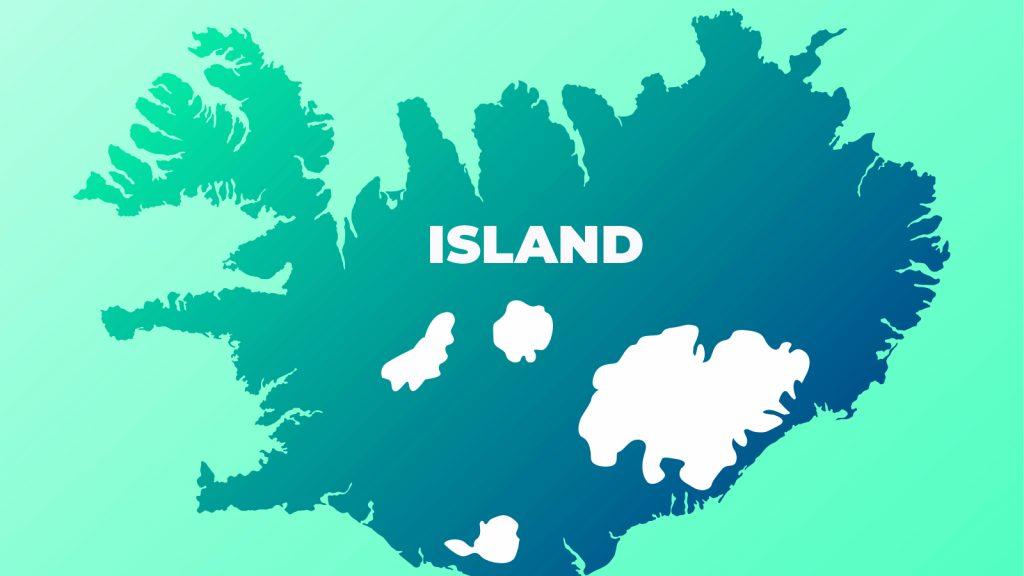 Islandskarta
