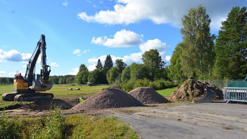 Kommunen bygger väg med gång- och cykelväg på Storbygärdet